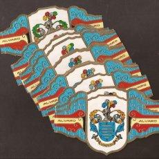 Vitolas de colección: AMG-7_VITOLAS ÁLVARO SERIE II HERÁDICA. Lote 51529477