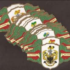 Vitolas de colección: AMG-9_VITOLAS ÁLVARO SERIE IV HERÁDICA. Lote 51529542