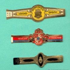 Vitolas de colección: 3 VITOLAS ANTIGUAS - ESCUDOS. Lote 194757365