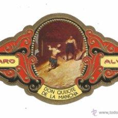 Vitolas de colección: ** V08 - VITOLA - TABACOS ALVARO - SERIE DON QUIJOTE DE LA MANCHA . Lote 52743240
