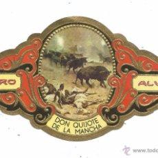 Vitolas de colección: ** V09 - VITOLA - TABACOS ALVARO - SERIE DON QUIJOTE DE LA MANCHA . Lote 52743304