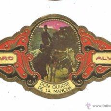 Vitolas de colección: ** V14 - VITOLA - TABACOS ALVARO - SERIE DON QUIJOTE DE LA MANCHA . Lote 52743490