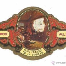 Vitolas de colección: ** V15 - VITOLA - TABACOS ALVARO - SERIE DON QUIJOTE DE LA MANCHA . Lote 52743677