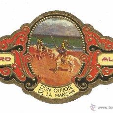 Vitolas de colección: ** V16 - VITOLA - TABACOS ALVARO - SERIE DON QUIJOTE DE LA MANCHA . Lote 52743697