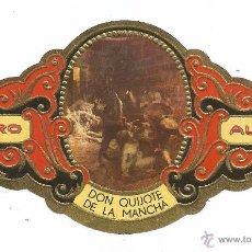 Vitolas de colección: ** V17 - VITOLA - TABACOS ALVARO - SERIE DON QUIJOTE DE LA MANCHA . Lote 52743708