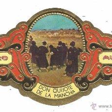 Vitolas de colección: ** V18 - VITOLA - TABACOS ALVARO - SERIE DON QUIJOTE DE LA MANCHA . Lote 52745571