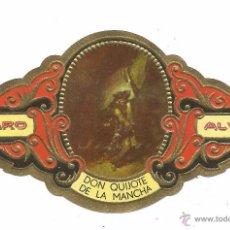 Vitolas de colección: ** V20 - VITOLA - TABACOS ALVARO - SERIE DON QUIJOTE DE LA MANCHA . Lote 52745600