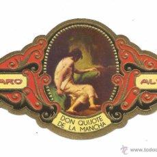 Vitolas de colección: ** V21 - VITOLA - TABACOS ALVARO - SERIE DON QUIJOTE DE LA MANCHA . Lote 52745740