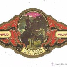 Vitolas de colección: ** V22 - VITOLA - TABACOS ALVARO - SERIE DON QUIJOTE DE LA MANCHA . Lote 52745748