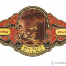 Vitolas de colección: ** V23 - VITOLA - TABACOS ALVARO - SERIE DON QUIJOTE DE LA MANCHA . Lote 52745754