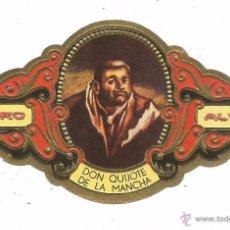 Vitolas de colección: ** V24 - VITOLA - TABACOS ALVARO - SERIE DON QUIJOTE DE LA MANCHA . Lote 52748130