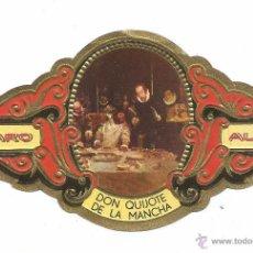 Vitolas de colección: ** V26 - VITOLA - TABACOS ALVARO - SERIE DON QUIJOTE DE LA MANCHA . Lote 52748157