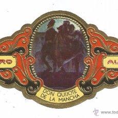 Vitolas de colección: ** V27 - VITOLA - TABACOS ALVARO - SERIE DON QUIJOTE DE LA MANCHA . Lote 52748208