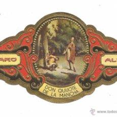 Vitolas de colección: ** V29 - VITOLA - TABACOS ALVARO - SERIE DON QUIJOTE DE LA MANCHA . Lote 52748228