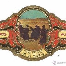 Vitolas de colección: ** V30 - VITOLA - TABACOS ALVARO - SERIE DON QUIJOTE DE LA MANCHA . Lote 52748278