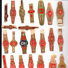 Vitolas de colección: LOTE DE 27 VITOLAS ANTIGUAS. Lote 52912242