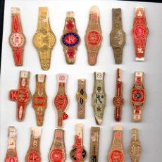 Vitolas de colección: LOTE DE 25 VITOLAS ANTIGUAS. Lote 52912252