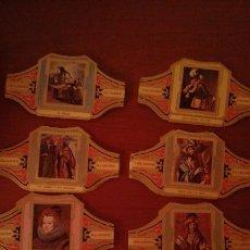 Vitolas de colección: LOTE DE 97 VITOLAS ALVARO SERIE PINTORES ESPAÑOLES. Lote 52924208
