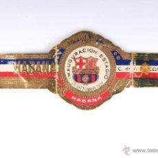 Vitolas de colección: VITOLA HABANA INAGURACION ESTADIO C.DE F. BARCELONA SEPTIEMBRE 1957. Lote 52981421