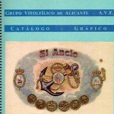 Vitolas de colección: CATÁLOGO ÚNICO DE ANILLAS CLÁSICAS DE ANCLAS Y TIMONES. VER ALGUNAS FOTOS.. Lote 53090607