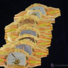 Vitolas de colección: 14 VITOLAS CAPOTE SERIE CONQUISTA DEL ESPACIO SERIE A SERIE LITERATOS LA PALMA CANARIAS. Lote 55069728