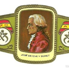 Vitolas de colección: VITOLA ALVARO - SERIE ESCULTORES - JOSE ESTEVE Y BONET. Lote 56230808