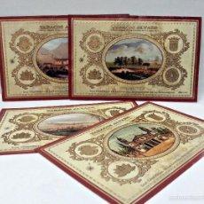 Vitolas de colección: LOTE 4 CUBREPUROS DE TABACOS ALVARO DEL AÑO 2001.. Lote 56679487