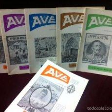 Vitolas de colección: 1970 AÑO COMPLETO REVISTA ASOCIACION VITOLFILICA. Lote 56940882