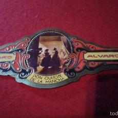 Vitolas de colección: VITOLA ALVARO DON QUIJOTE N°55. Lote 57303183