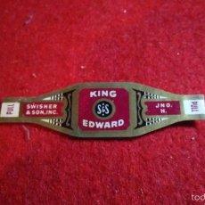 Vitolas de colección: VITOLA ANTIGUA KING EDWARD. Lote 57303500