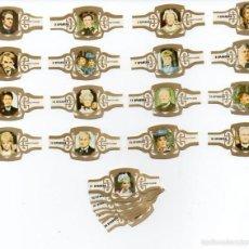 Vitolas de colección: VITOLAS. SPANERA - LA SAGA DE LOS FORSYTE, 24 VITOLAS. Lote 62900500
