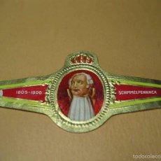 Vitolas de colección: VITOLA SCHIMMELPENNINCK 1805-1806 , MIDE 3,2X6,8 CM. Lote 57960350