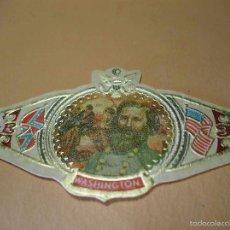 Vitolas de colección: VITOLA WASHINGTON, L. MCLAWS, SERIE XXII, NR. 64, MIDE 3,4X6,4 CM. Lote 57960755