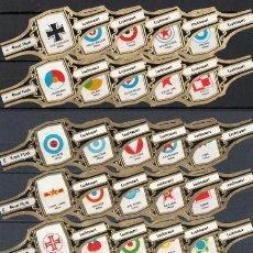 Vitolas de colección: ¡¡ OFERTA !!. ROYAL FLUSH. COLECC. DE VITOLAS COMPLETA ( 55 UNID.). ANAGRAMAS AVIACIÓN. NEGRA.. Lote 58527464