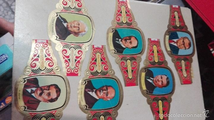 Vitolas de colección: 42 vitolas alvaro hombres celebres - Foto 2 - 58670412