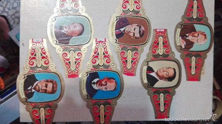 Vitolas de colección: 42 vitolas alvaro hombres celebres - Foto 4 - 58670412