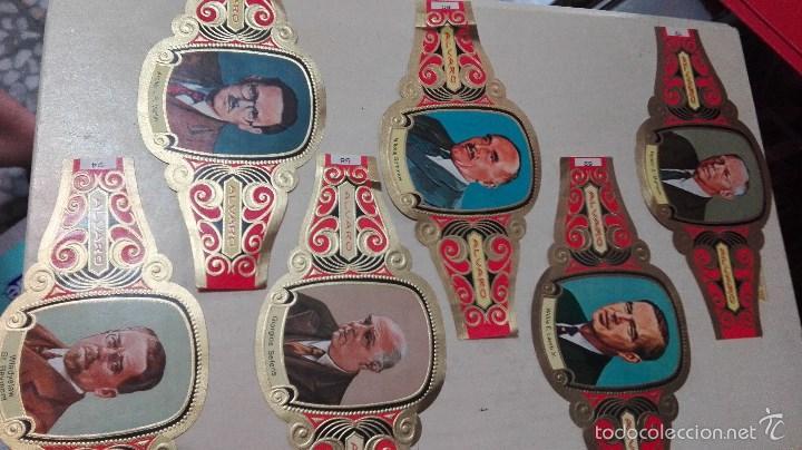 Vitolas de colección: 42 vitolas alvaro hombres celebres - Foto 6 - 58670412