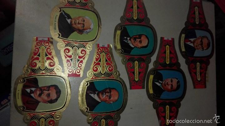 Vitolas de colección: 42 vitolas alvaro hombres celebres - Foto 7 - 58670412