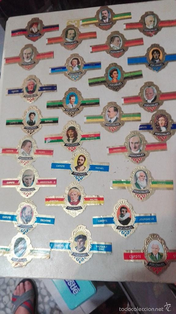 Vitolas de colección: 27 vitolas capote personajes - Foto 3 - 58670469