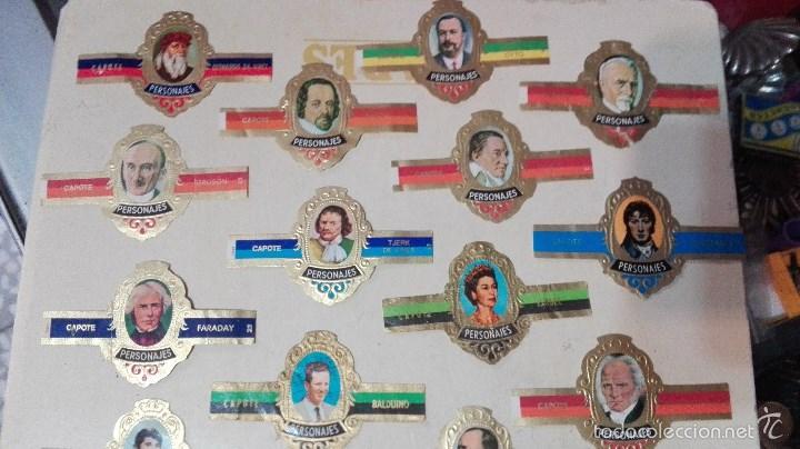 Vitolas de colección: 27 vitolas capote personajes - Foto 4 - 58670469
