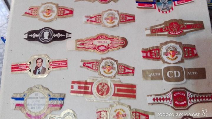 Vitolas de colección: gran lote vitolas varidas habana etc - Foto 3 - 58670599