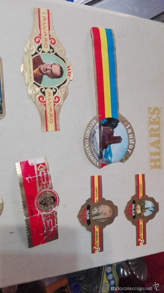 Vitolas de colección: gran lote vitolas varidas habana etc - Foto 6 - 58670599