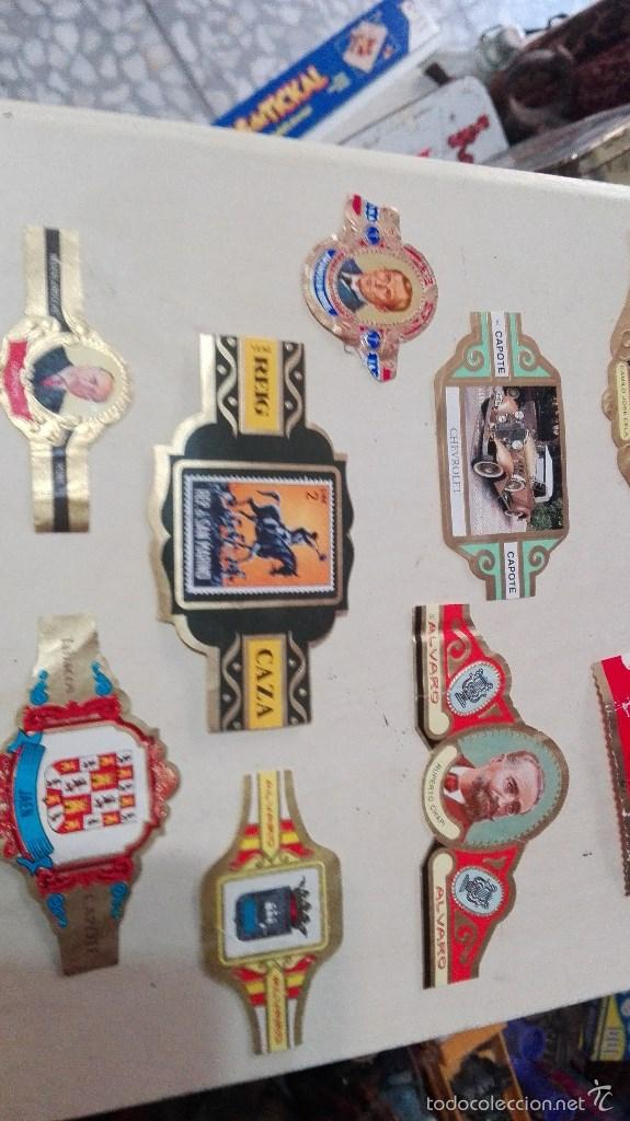 Vitolas de colección: gran lote vitolas varidas habana etc - Foto 7 - 58670599
