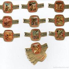 Vitolas de colección: VITOLAS SERIE COMPLETA MERCATOR - ORIGEN DE LAS CIVILIZACIONES, 24 VITOLAS. Lote 85482574