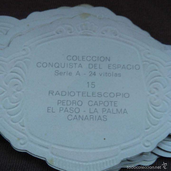 Vitolas de colección: LOTE DE 21 VITOLAS PEDRO CAPOTE COLECCION CONQUISTA DEL ESPACIO SERIE A, VITOLA. - Foto 2 - 60727443