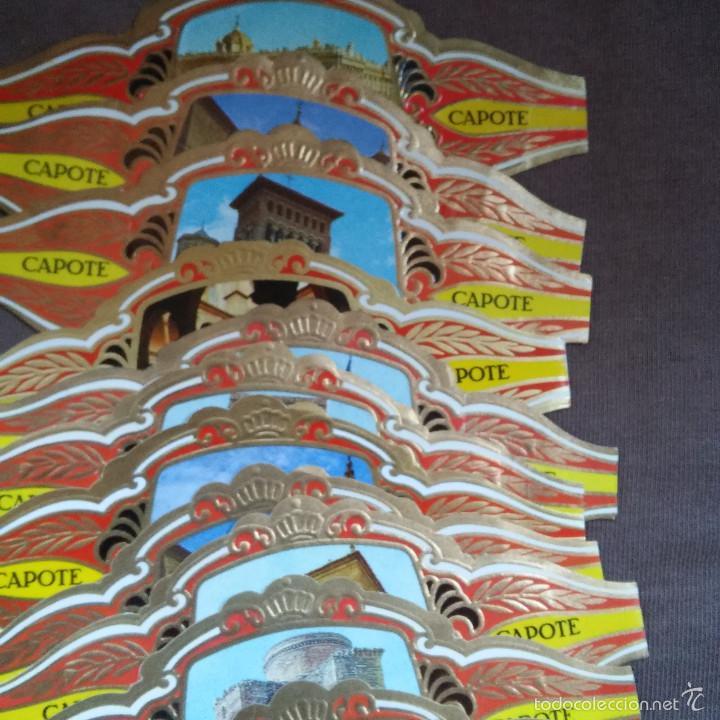 Vitolas de colección: LOTE 12 VITOLAS CAPOTE.COLECCION ARQUITECTURA MONUMENTAL, MARAVILLAS YCASTILLOS DE ESPAÑA, VITOLA - Foto 2 - 60727779