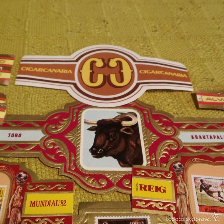 Vitolas de colección: LOTE 29 VITOLAS CON DIVERSAS SERIES, ARAUTAPALA, LITERATOS GUERRA CIVIL ESTADOS UNIDOS ETC, VITOLA. - Foto 4 - 60805839