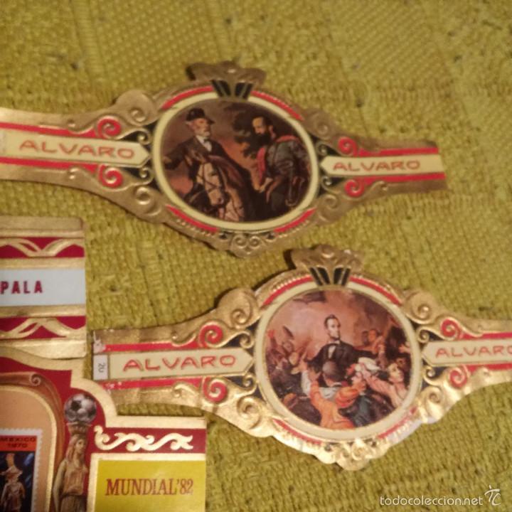 Vitolas de colección: LOTE 29 VITOLAS CON DIVERSAS SERIES, ARAUTAPALA, LITERATOS GUERRA CIVIL ESTADOS UNIDOS ETC, VITOLA. - Foto 7 - 60805839