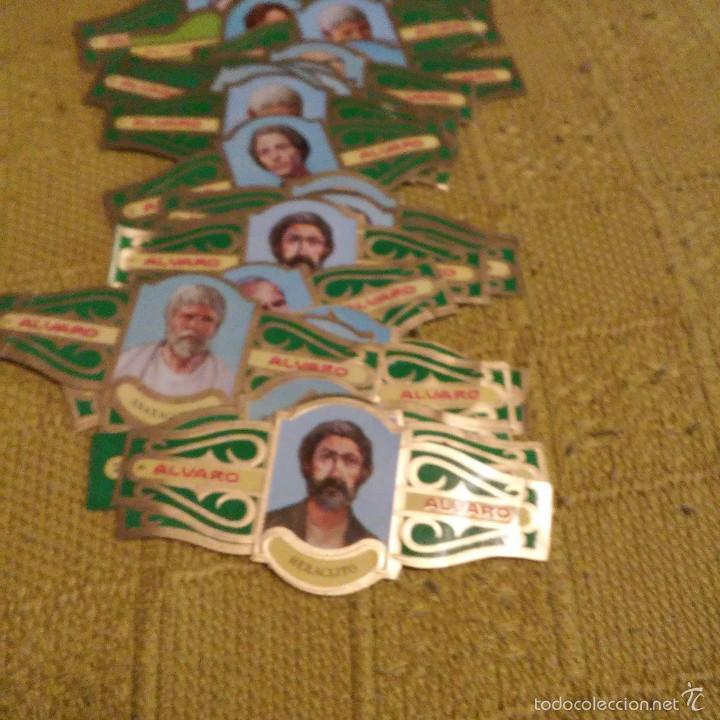 Vitolas de colección: LOTE DE 39 VITOLAS, SERIE FILOSOFOS I Y MUJERES FAMOSAS EN LAS RELIGION, TABACOS ALVARO, VITOLA - Foto 2 - 60806379