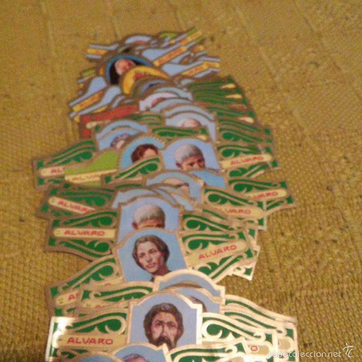 Vitolas de colección: LOTE DE 39 VITOLAS, SERIE FILOSOFOS I Y MUJERES FAMOSAS EN LAS RELIGION, TABACOS ALVARO, VITOLA - Foto 3 - 60806379